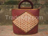 Vietnamese bamboo handbag