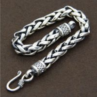 Sterling Silver Bold Rope Bracelet for Men
