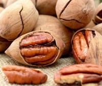 Good taste of pecan nut