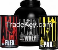 Universal Animal Pak, Animal Cut, Animal Flex