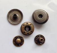 environmental brass material button  metal snap buttons