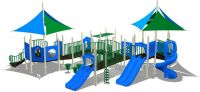 Sell outdoor playground.