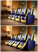 Recliners for home cinema