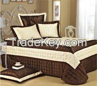 Faux Leather bedspread set 5pcs