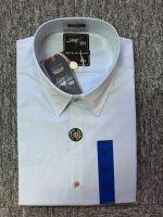 100% cotton fashion yarn dyed dobby high quality men's casual shirt
