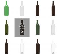 glass bottles for wine