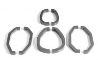 clamp silicon cores