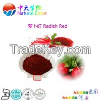 natural colour radish red food additives pigment