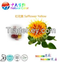natural color safflower yellow food additives