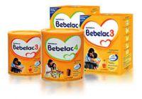 Bebelac Nutrition 1, 2, 3 and 4, Bebelac Gold and Bebelac Infant Formula