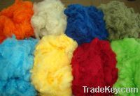 Sell dope dyed polyester fiber