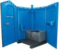 China Portable Toilet Mobile Toilet by Rotomolding