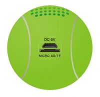 Aosder Jh-Wqbt3 Sound Box Wireless Bluetooth Speaker Stereo 3.5mm Audio USB Portable Sound Box Support TF Line-in Built-in 600mAh Battery Music Playing Tennis Ball Shape