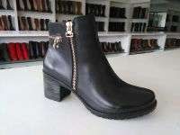 Women Fashion Casual Ankle Boot With Side-Zip