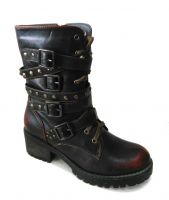 Roma Style Of Women Fashion Casual Rivet Boots