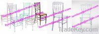 Sell crystal stackable chiavari chair