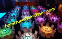"""Sell 72""""acrylic banquet led table"""
