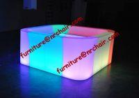 SELL shanghai nightclub acrylic LED commercial circular portable bar