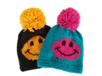 smile face knitted Hat