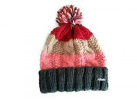 Iceland wool women Winter Hat with cable pattern