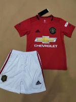 2019-2020 Kid Soccer Kits Uniform Children Football Kits Football Uniforms With Shirt And Short Soccer Wear
