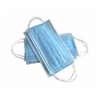 3 Layers Dustproof Facial Protective Cover Masks Anti-Dust Disposable Surgical Medical Salon Earloop Face Mouth Masks