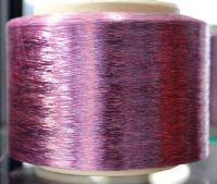 polyester FDY yarn dope dyed filament yarn fancy yarn two color