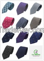 Fashion Accessories Customized Design Mens Silk Woven Neckties