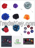 Men's Flower Lapel Pin Wedding Suit Fashion Corage Boutonniere Stick