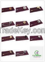 Wholesale Professional Long Needle Metal Custom Brooch Pins