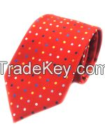 Polk Dots Classic Design Men's Best Gift Neck Tie