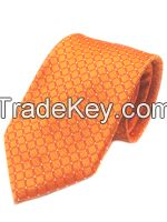 High Quality Plaid Woven Necktie