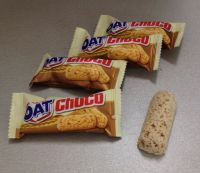 oatmeal chocolate bar 5 flavours 9g candy food