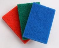 Sell Green Abrasive Scouring Pad for Kitchen Cleaning