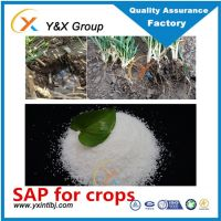 potassium polyacrylate super absorbent polymer for common crops and plants