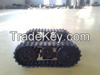 Selling Py-100b Rubber Track Undercarriage
