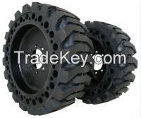 Top Seller Good Price Forklift Skid Steer Solid Tire 4.00-8.