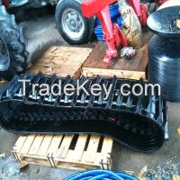 Rubber Tracks for Agricultural Machinery Kubota DC-60