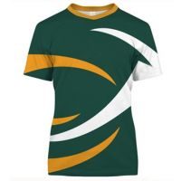 Cool Orange And Green Sublimation T-shirt