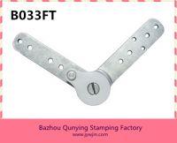 Metal hinge and bracket for sofa headrest or armrest B033FT