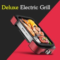 Hot plate grill and BBQ grill