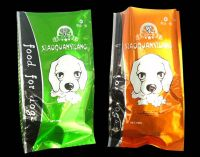 Block Square Flat Bottom Zipper Stand up Pouch Plastic Pet Food Bag