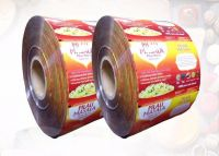 Aluminum foil laminating film roll for food packaging