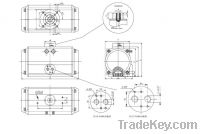 Sell drawing of valve actuators