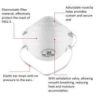 NIOSH Standard Disposable N95/FFP1/FFP2/FFP3 Dust Mask For Industrial Safety Working