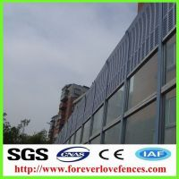 high quality aluminum noise barriers soundproof wall panels