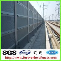 China suppliers noise barrier panel sound proof sound barrier