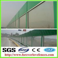 Transparent High Quality  Acrylic Sheet Noise Barrier