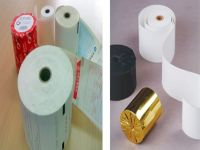 Excellent quality thermal roll paper , cash register paper for supermarket and bank