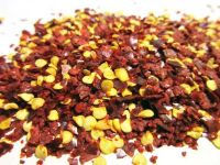 100% natural dried crushed chilli with seed